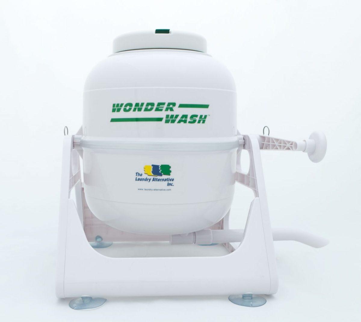 Produkttest av WonderWash, handvevad tvättmaskin #prepperSE